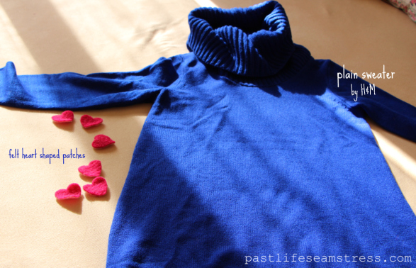 DIY, heart pattern, heart motif, winter wear, women's wear, autumn winter 2013, pink hearts, womens wear, crafts, hand crafted, H and M, valentine's day