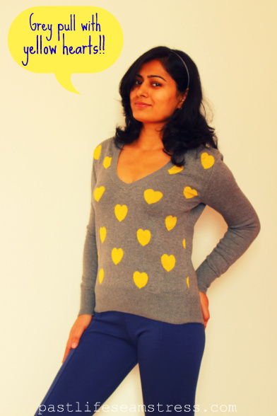 Yellow hearts, united colors of benetton, valentine's day, spring outfit, girly things, women's wear