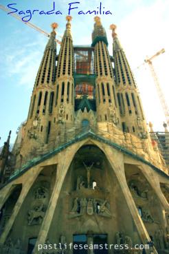 sagrada familia, barcelona, spain, tarvel