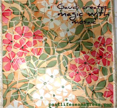 Park guell, gaudi, mosaic art, barcelona, travel photography, travel, spain, DIY