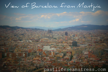 barcelona, spain, old town, travel, pictures, DIY, Montjuic