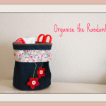 Denim bag, jeans bag, diy bag, holder, organiser, craft, hobby idea, simple sewing, sewing project, lace
