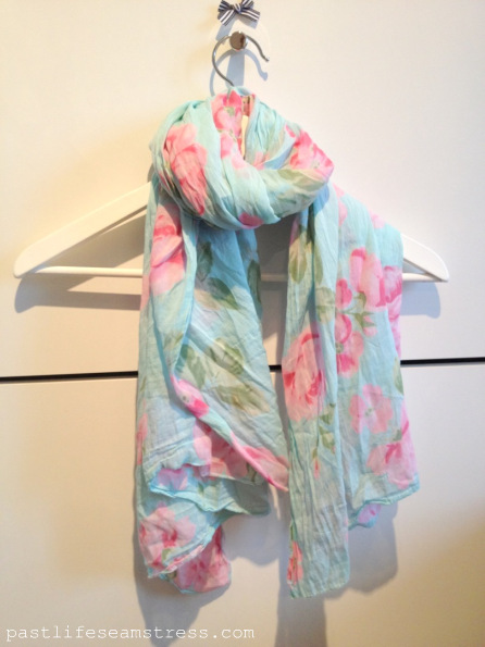 scarf, summer scarf, cotton scarf, diy scarf, spring summer 2013, shopping in Italy, shopping, trends, trims , lace, verona