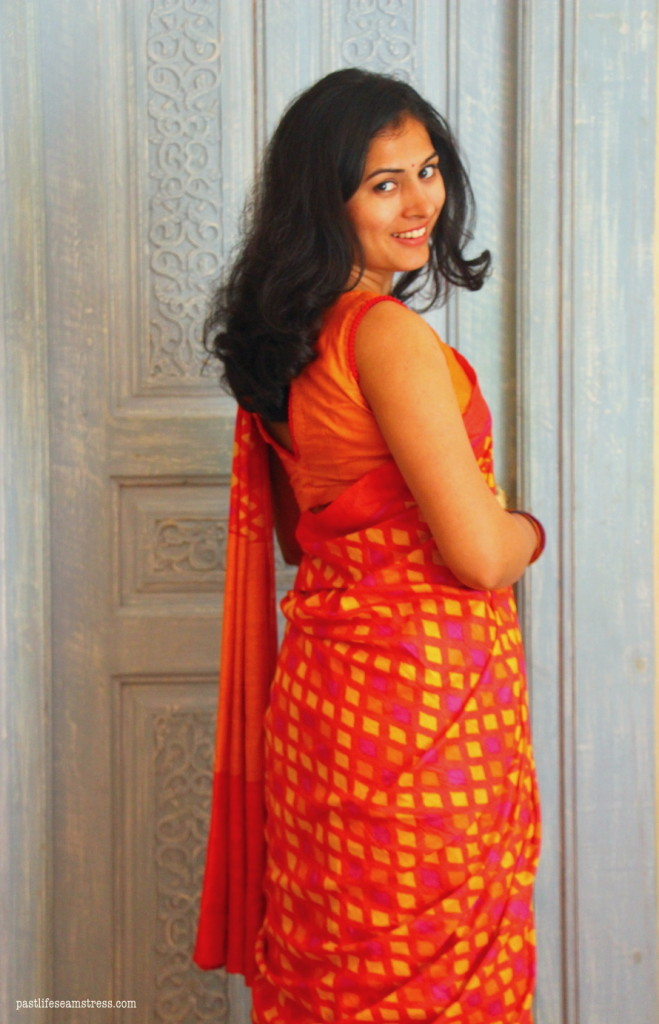 So I love all kinds of sarees, it's just that I love some more than the others. :)