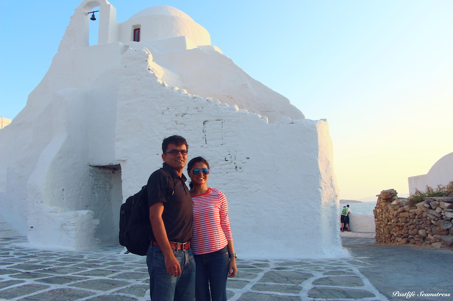 There are A LOT of churches for an island like Mykonos. It is a local legend that there are 365 churches in Mykonos, one for each day of the year!
