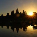 Cambodia : Last Sunrise at Angkor Wat.